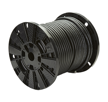 Approved Manufacturer 12/6 SO Cord, 600V, Black, 250ft.