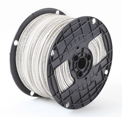 Alan Wire 14AWG MTW Blue with White Stripe, 2500ft. | French Gerleman