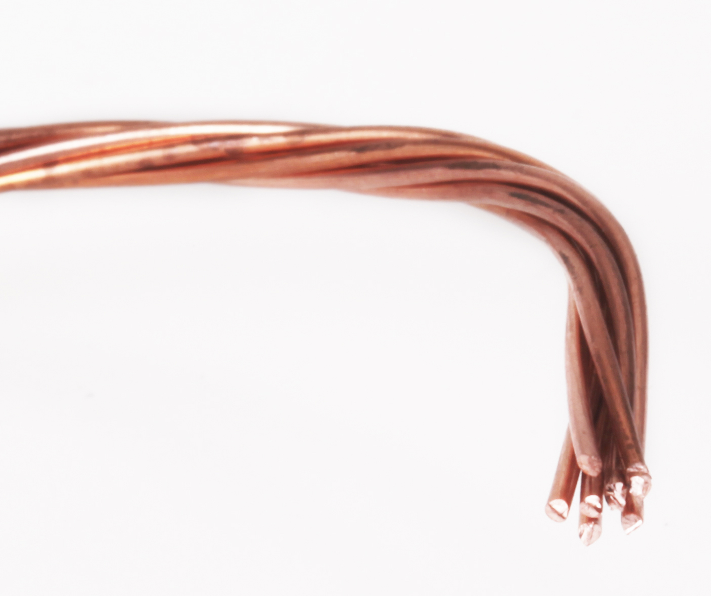 Stranded Bare Copper Wires
