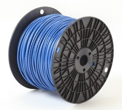 Alan Wire10AWG MTW Blue, 500ft.
