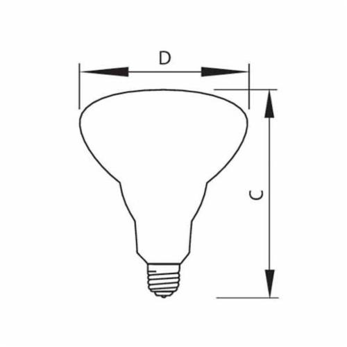 Philips Lighting65BR/FL60/LL 120V 8/1 TP